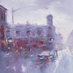 Rainy Day (Original) by Elena Nayman - Original Artwork