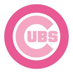 Fathead MLB Team Pink Logo Wall Decal - Girls like baseball, too! Put some team pride in your little leaguer's room with the Fathead MLB Team Pink Logo Wall Decal. This tear- and fade-resistant graphic is made from high-grade vinyl and uses a low-tack adhesive that won't damage your walls when you want to relocate the decal. Choose from a wide variety of officially licensed MLB logos that take the original design and present them in cheerful pink!