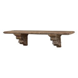 Uttermost - Mccoy Aged Wood Shelf - Mccoy Aged Wood Shelf