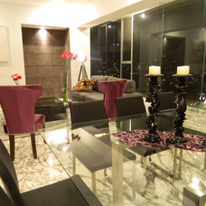 Contemporary Dining Room by Carlos Chiver