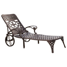 Mediterranean Outdoor Chaise Lounges by Cymax