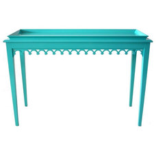 Eclectic Console Tables by oomph