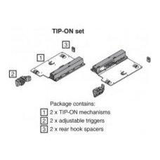 Woodworker's Hardware Tip-on drawer opener for tandem slides - Woodworker's Hard