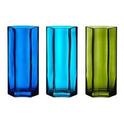 Per Ivar Ledang - SOMRIG Vase - Vase, assorted blue shades