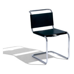 """Knoll � - Spoleto Chair - Designed by Ufficio Tecnico Based in Foligno, Italy, Knoll International's in-house technical team of engineers and designers places quality and high design at the forefront of all their creations. Inspired by Mies Van der Rohe's classic design, they created the Spoleto chair in 1971, which has become an iconic piece in the modern world. THE DESIGN 