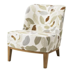 Tord Björklund - IKEA STOCKHOLM Easy chair cover - Easy chair cover, Blad brown