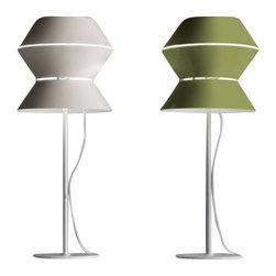 "Modoluce - Modoluce Art Table Lamp - The Art  Table Lamp by Modoluce, created in 2011 by Carlo Tamborini. The Artu table lamp is of painted aluminium available in the following colours: white, sandy, charcoal, leather and green. The Artu exhibits a modern and sleek design, along with quality craftsmanship, that is sure to beautifully brighten any contemporary atmosphere.         Product Details: The Art  Table Lamp by Modoluce, created in 2011 by Carlo Tamborini. The Artu table lamp is of painted aluminium available in the following colours: white, sandy, charcoal, leather and green. The Artu exhibits a modern and sleek design, along with quality craftsmanship, that is sure to beautifully brighten any contemporary atmosphere. Details:                         Manufacturer:            Modo Luce                            Designer:            Carlo Tamborini                            Made in:            Italy                            Dimensions:            Small: Height: 19.7"" (50 cm) Width: 7.9"" (20 cm)                            Light bulb:            Halogen bulb 1x42W E14                            Material:            painted aluminium"