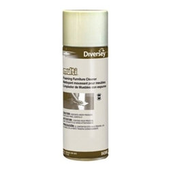 DIVERSEY, INC - DIVERSEY MULTI SURF FOAMSPRAY CLNR LEMON 12X15OZ - CAT: Chemicals & Janitorial Supply Chemicals Furniture Polish