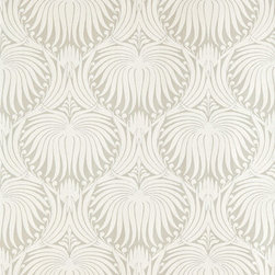The Lotus Papers BP 2010 - Adding a bit of depth and personality, this lotus-print wallpaper from Farrow & Ball would complement any neutral space nicely. Pair it with an accompanying stone, gray or creamy white wall, and your space will instantly come to life.
