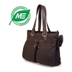 Mobile Edge 16 Inch Eco Friendly Casual Tote - Chocolate