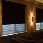 Lutron Shades - Various projects that include Lutron Shade (and other motorized shade products) installations
