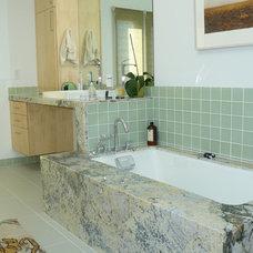Contemporary Bathroom by Howard Bankston & Post