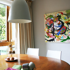Eclectic Dining Room by Think Contemporary