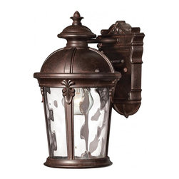 Hinkley - Hinkley Windsor One Light River Rock Wall Lantern - 1890RK-LED - This One Light Wall Lantern is part of the Windsor Collection and has a River Rock Finish. It is Outdoor Capable, and Wet Rated.