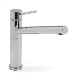 Blanco - Blanco Alta Kitchen Faucet - Modern geometric design blends with traditional functionality in this contemporary faucet. Sleek single-lever handle and elegant, streamlined spout.