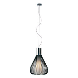 ET2 Lighting - Hydrox Single Pendant - Dance on air. This carefully orchestrated pendant has a fluid grace that makes it appear as though it is dancing. Its contemporary design aesthetic was made for your modern home, studio or loft.