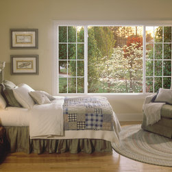 Excalibur® : Fusion-Welded Vinyl Windows - Add a bright, new dimension of comfort and elegance to any room with an Excalibur® sliding window.