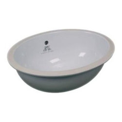 Lefroy_Brooks - Lefroy Brooks - Undercounter Oval Basin - LB7220 - Classic, White Finish, 1900 Classic Collection