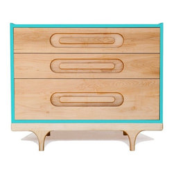 Caravan Dresser, Blue - Everything about this dresser, from the color to the curves, is pitch perfect. And hey, if blue isn't your thing, it's available in five other colors, too.