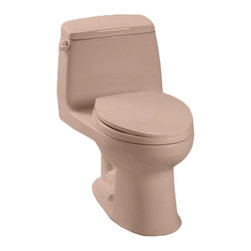 Toto - Toto MS854114E#03 Bone Eco UltraMax Toilet, 1.28 GPF - Toto MS854114E#03 Bone Eco UltraMax Elongated One-Piece Toilet. Toto is the world's largest plumbing products manufacturer, they have been designing and innovating plumbing fixtures, accessories, showers, and for over 90 years. Each collection and product that Toto makes is unique in appearance and performance. This Toto MS854114E#03 Bone Eco UltraMax Elongated One-Piece Toilet features a high gloss enamel Vitreous China constructed body designed to minimize chipping and scratching. This Toilet also includes an upgraded elongated toilet bowl, and a powerful E-MAX flushing system. The Universal height and rough-in make the toilet comfortable for users and easy to install. This toilet comes in Bone.