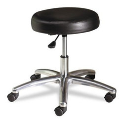 HON Medical Exam Stool without Back - Black - About Hon IndustriesHon Industries was founded after World War II, when three businessmen used scrap metal to manufacture index card file boxes for kitchen use. Since this humble beginning, Hon has grown into the second largest U.S. office furniture manufacturer and has become an industry leader in file cabinets. The Muscatine, Iowa, based company offers a complete line of office furniture in both wood and steel. Their innovative designs and fine craftsmanship have made the Hon brand famous for quality, durability, and practicality.