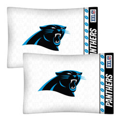 Store51 LLC - NFL Carolina Panthers Football Set of Two Pillowcases - Features: