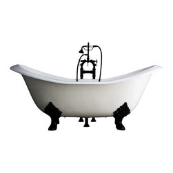 "Penhaglion - The Dudley 73"" Long Cast Iron Bathtub Package from Penhaglion - Product Details"