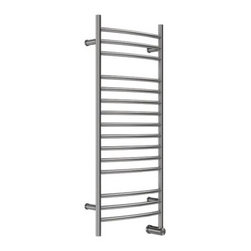 mr. steam - Mr. Steam W348 Towel Warmer - Stainless Steel - Transforming bathrooms into private spas, Mr. Steam has been in the business of creating well designed and durable steam products for over 50 years. The ultimate indulgence after a steam bath or shower is wrapping yourself in a freshly warmed towel. Mr. Steam's Series 300 towel warmers are available in freestanding and wall mounted options, providing a luxury you won't want to resist. Towel warmers create a straight from the dryer warmth on towels and clothing. They also dry damp towels to help prevent mildew, are a place to dry your delicates, and to warm up blankets or quilts at night. Mr. Steam uses sustainable recyclable stainless steel in all home products and includes a 2-Year Limited-Warranty for towel warmers. Features & Specs Made of only the highest quality stainless steel Available in brushed or polished finish Wall-mount models save space and give a built in look Sure to please the most discerning decorator with graceful design cULus Listed All diagrams are for illustrative purposes only Standard with built in Aromatherapy oil well Wall-mount units available with factory installed power cord 168 Watts 120 Volts 2-Year Limited-Warranty for towel warmers View Specs, Installation, and Operation Information for the 300 Series