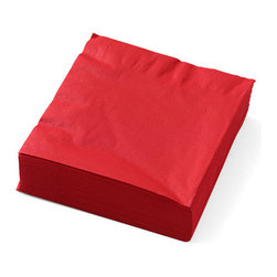 Red Napkins - Wipe away the evidence of your secret snacking before anyone notices.