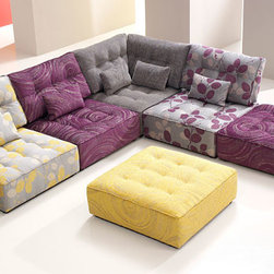 Alice Modular Fabric Sofa - Darlings Of Chelsea