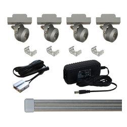 Jesco Lighting - Jesco KIT-MTSL217-A LED Track Light Kit - Jesco KIT-MTSL217-A LED Track Light Kit