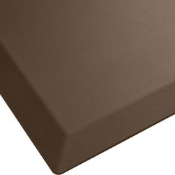 "Imprint Comfort Mats - Imprint Cumulus Pro Comfort Mats 24 X 36, Brown, 24"" X 36"", Cumulus Pro - Try the CumulusPRO with its proprietary Cushion-Core Technology. You will be amazed by how it reduces fatigue and the dull ache that comes from standing on hard surfaces. The advantage is in its solid, one-piece polyurethane construction. It stands up to the heavy-duty demands of the home or workplace with a high-density core guaranteed not to lose support over time. Give your yourself  and your staff  all-day cushioning comfort with a CumulusPRO Anti-Fatigue Mat. Its no-trip design means you will increase safety while improving productivity. CumulusPRO Mats are made with Cushion-Core Technology to reduce fatigue and increase comfort and productivity. Solid, one-piece polyurethane construction and a high-density core that's guaranteed not to lose support over time. Beveled edge design and no-curl edges reduce trip hazard while the non-slip bottom keeps mat in place. Environmentally friendly and non-toxic. 10-year warranty. 100% satisfaction guarantee"