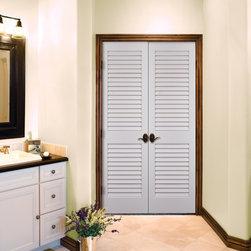 Plantation Louvered Authentic Wood Doors - HomeStory
