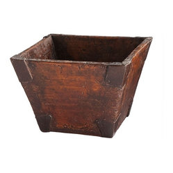 Reclaimed Wooden Bucket