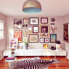 "Eclectic Artwork Rohde's ""Energetic & Inspiring"" Room Room for Color Contest 