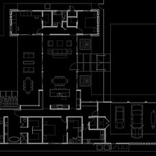 Contemporary Floor Plan by Spry Architecture
