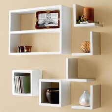 Contemporary Wall Shelves by Homewoods Creation
