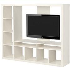 EXPEDIT TV storage unit, white