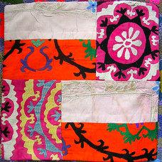 Eclectic Decorative Pillows by Bazaar Bayar