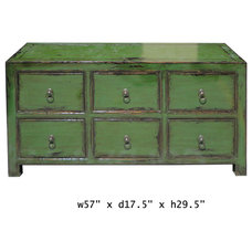 Eclectic Dressers by Golden Lotus Antiques