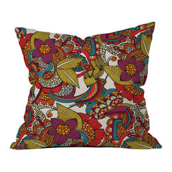 DENY Designs - Valentina Ramos Anais Throw Pillow - Wanna transform a serious room into a fun, inviting space? Looking to complete a room full of solids with a unique print? Need to add a pop of color to your dull, lackluster space? Accomplish all of the above with one simple, yet powerful home accessory we like to call the DENY throw pillow collection! Custom printed in the USA for every order.