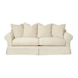 Slipcovered Furniture - Price varies according to selection of options for fabric grade.