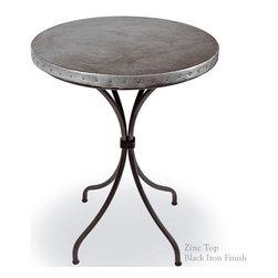"Italia 40"" Bar Table by Mathews & Co. - Dimensions: (length x width x height)"
