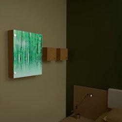 Affordable Modern Decor: Illuminated Wall Decor Furniture - Ambiance Design