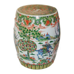 Chinese Garden Stool - $1,800 Est. Retail - $900 on Chairish.com -
