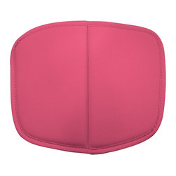 ZUO MODERN - Baby Wire Cushion Pink (set of 2) - Baby Wire children's chair suits every living space where children play. Made out of chrome steel for the base and flexible, high-resilient polyurethane as a cushion.