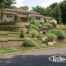 Traditional Landscaping Stones And Pavers by Techo-Bloc