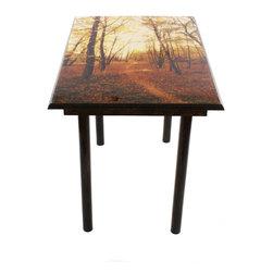 My Méz - Fall Sunset Table/Wall Art - It's a table; It's wall art. It's BOTH, and It's Made In the USA!
