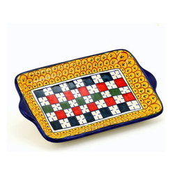 Artistica - Hand Made in Italy - Geribi: Simple Butter Tray Vario - Geribi: Simple butter tray Vario: Please Note: Above price is for one item. Multiple items shown because this Geribi product is manufactured with random designs.