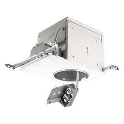 Progress Lighting - Progress Lighting P63-EBFB Recessed Two Light Recessed Housing - 13W Dual Volt ProOptic electronic ballast Firebox that functions as a standard light fixture while drastically limiting the passage of heat and flames to the next floor in the unfortunate event of a fire.